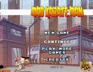 Mad Karate Man